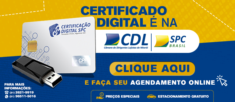 Agendamento de Certificado Digital